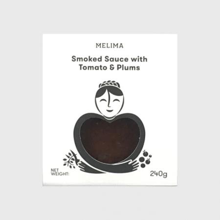 Melima geräuchert Tomate Pflaume