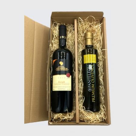 Präsent Öl und Wein klein