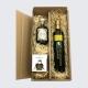 Präsent Olivenöl und Balsamico